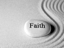Faith helps people move forward and stay sober.